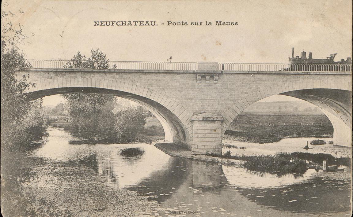Contenu du Neufchâteau, Pont sur la Meuse