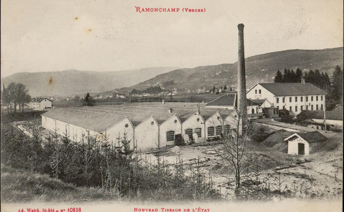 Contenu du Ramonchamp (Vosges), Nouveau Tissage de l'État