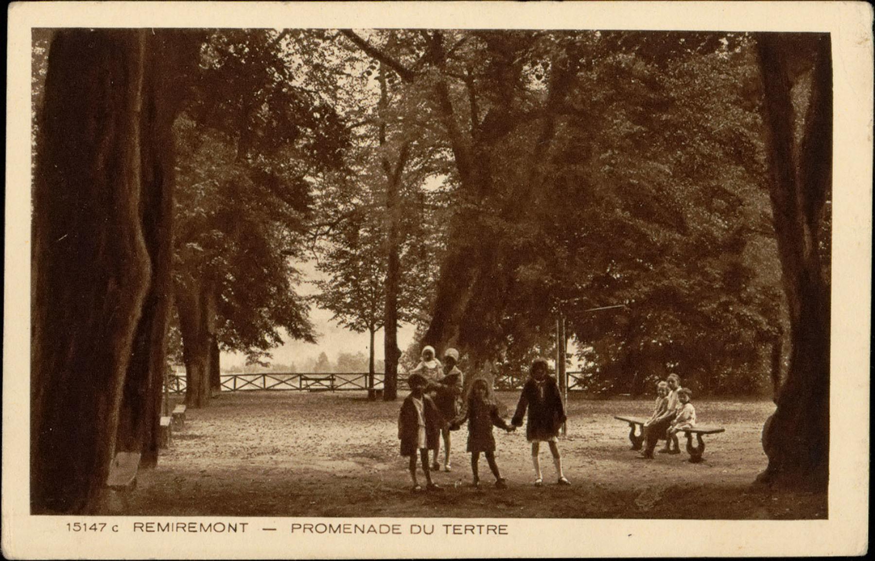 Contenu du Remiremont, Promenade du Tertre