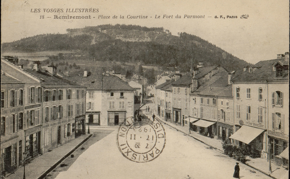 Contenu du La Fée de l'Étang de la Plaine et le fort du Parmont, Saint-Nabord