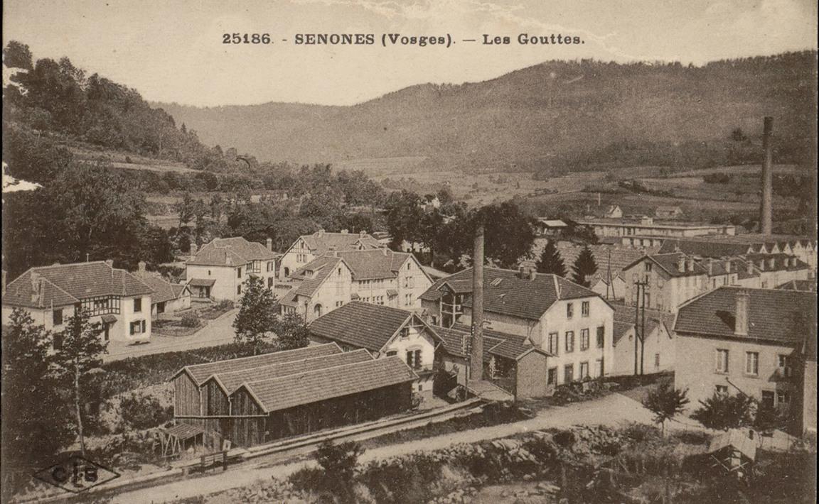 Contenu du Senones (Vosges), Les Gouttes