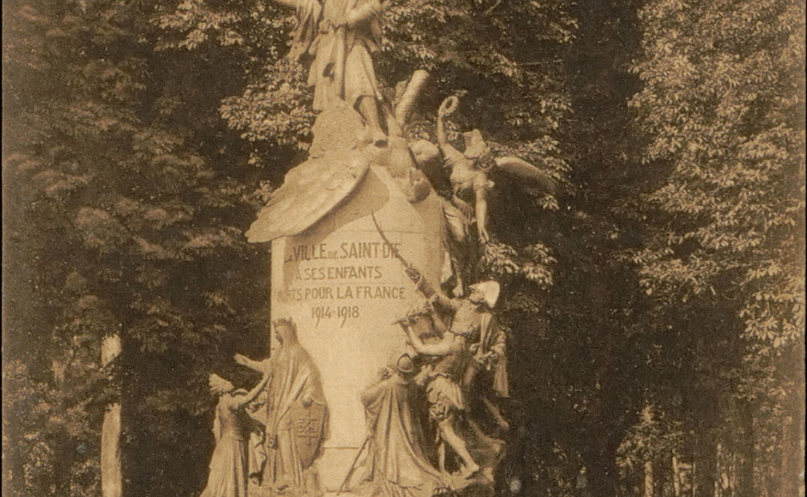 Contenu du Monument aux Morts de Saint-Dié-des-Vosges