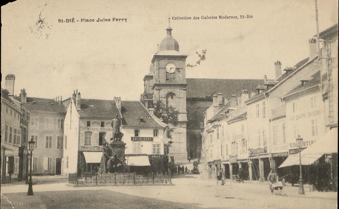 Contenu du Saint-Dié - Place Jules Ferry