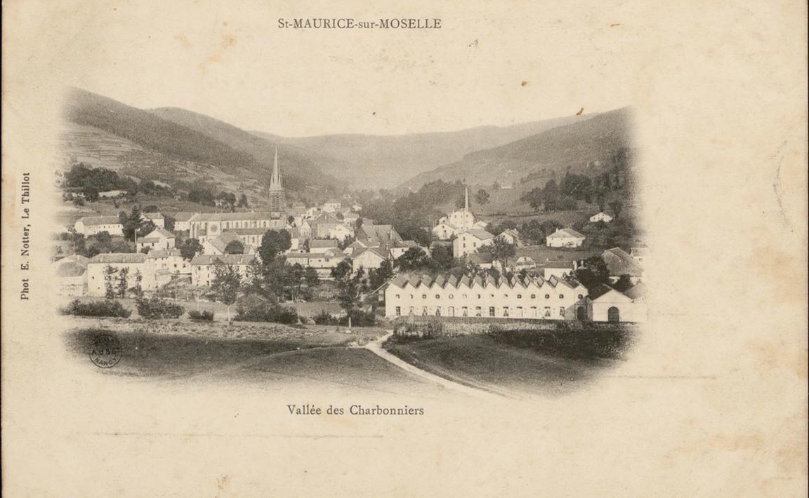 Contenu du St-Maurice-sur-Moselle, Vallée des Charbonniers