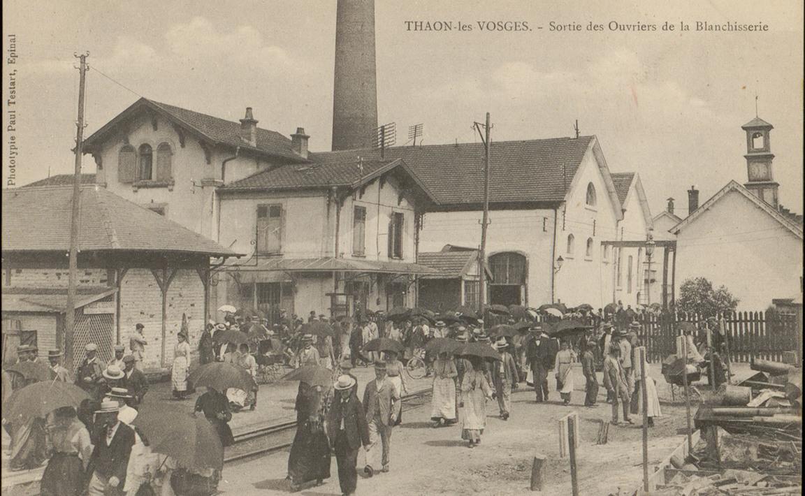Contenu du Thaon-les-Vosges, Sortie des Ouvriers de la Blanchisserie
