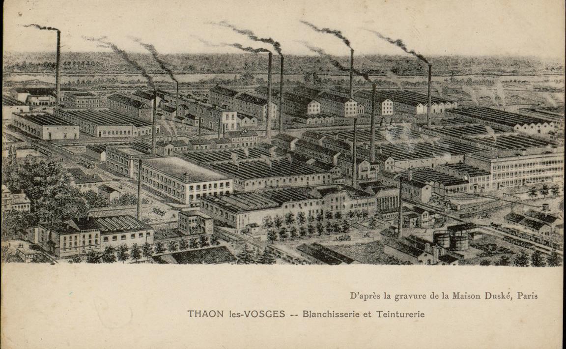 Contenu du Thaon-les-Vosges, Blanchisserie et Teinturerie (BTT)
