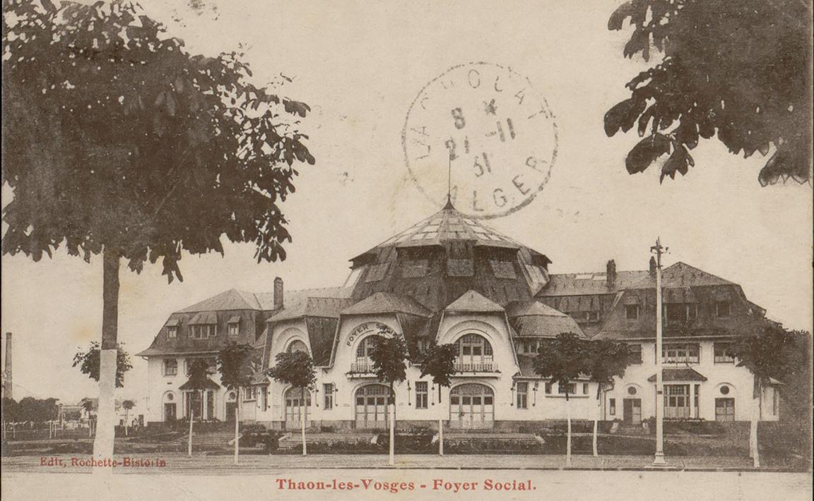 Contenu du Thaon-les-Vosges, Foyer social