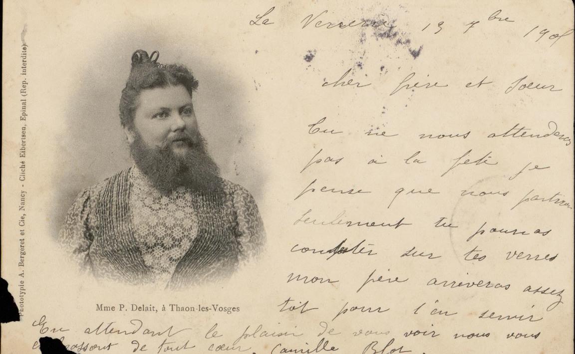 Contenu du Clémentine Delait, la femme à barbe de Thaon-les-Vosges