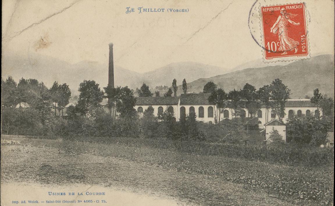 Contenu du Le Thillot (Vosges), Usines de la Courbe