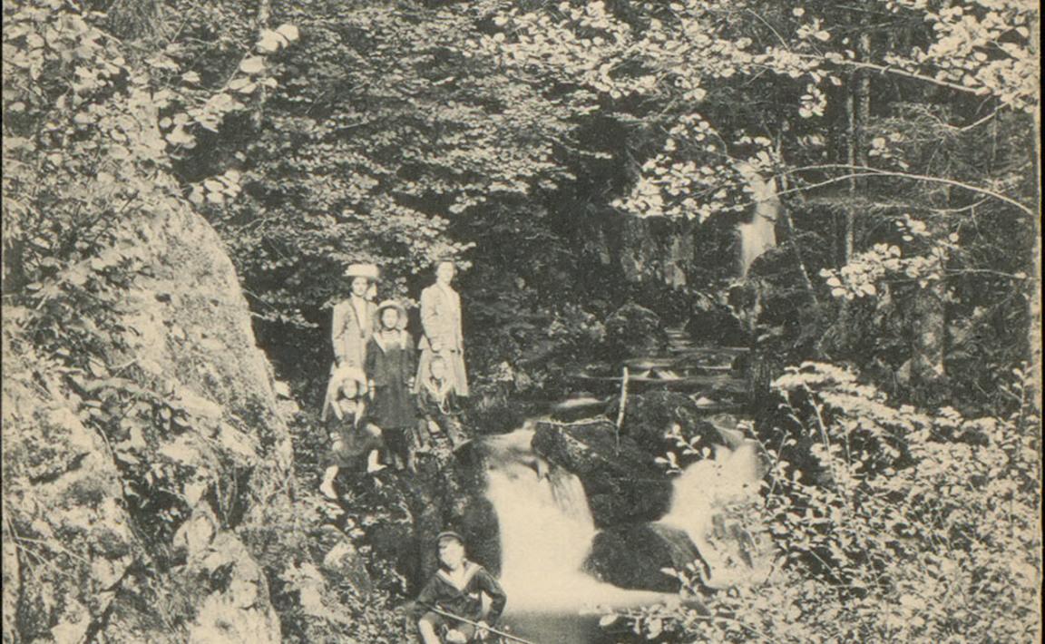 Contenu du Val d'Ajol - La Cascade du Géhard