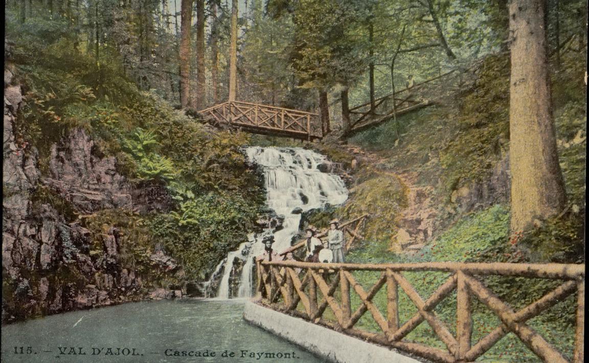 Contenu du Val d'Ajol - La Cascade de Faymont