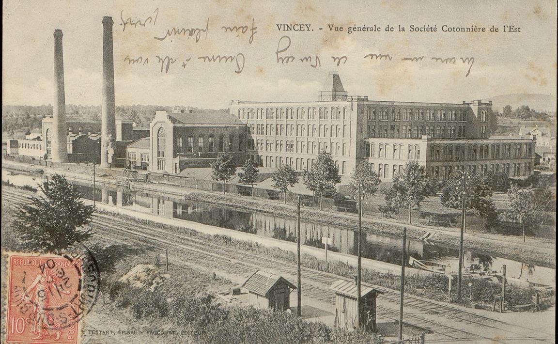 Contenu du Vincey, Vue générale de la Société Cotonnière de l'Est
