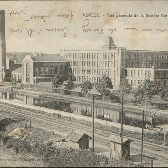 Les grandes périodes de l'industrie textile dans les Vosges