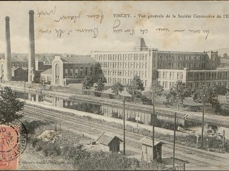 Contenu du Les grandes périodes de l'industrie textile dans les Vosges