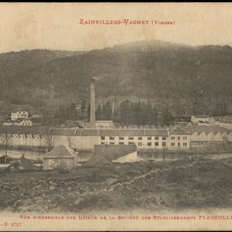 Architecture et industrie textile dans les Vosges