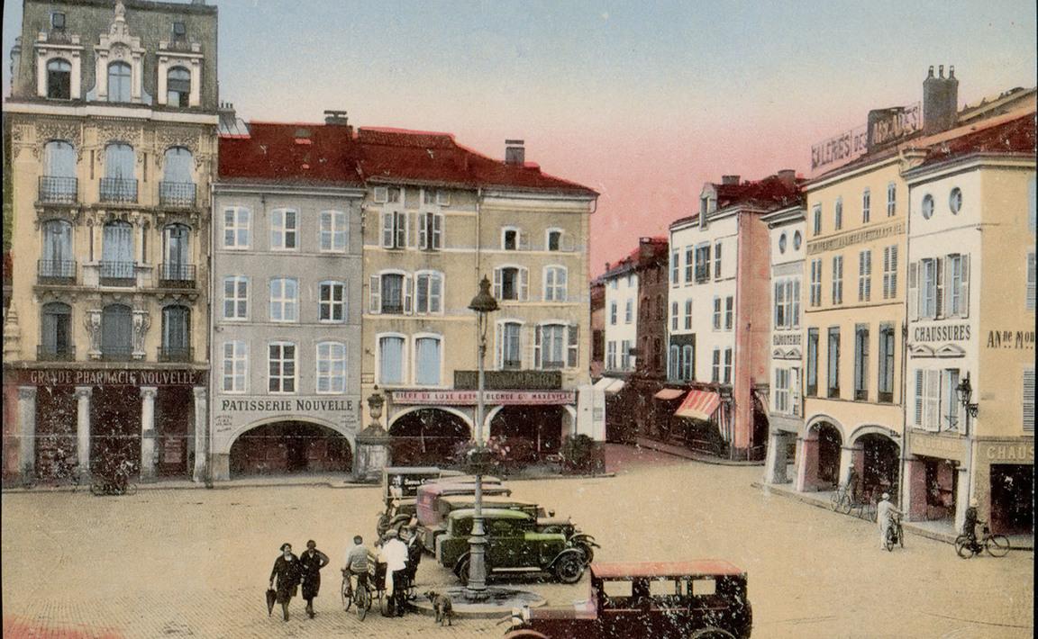 Contenu du Épinal - Place des Vosges