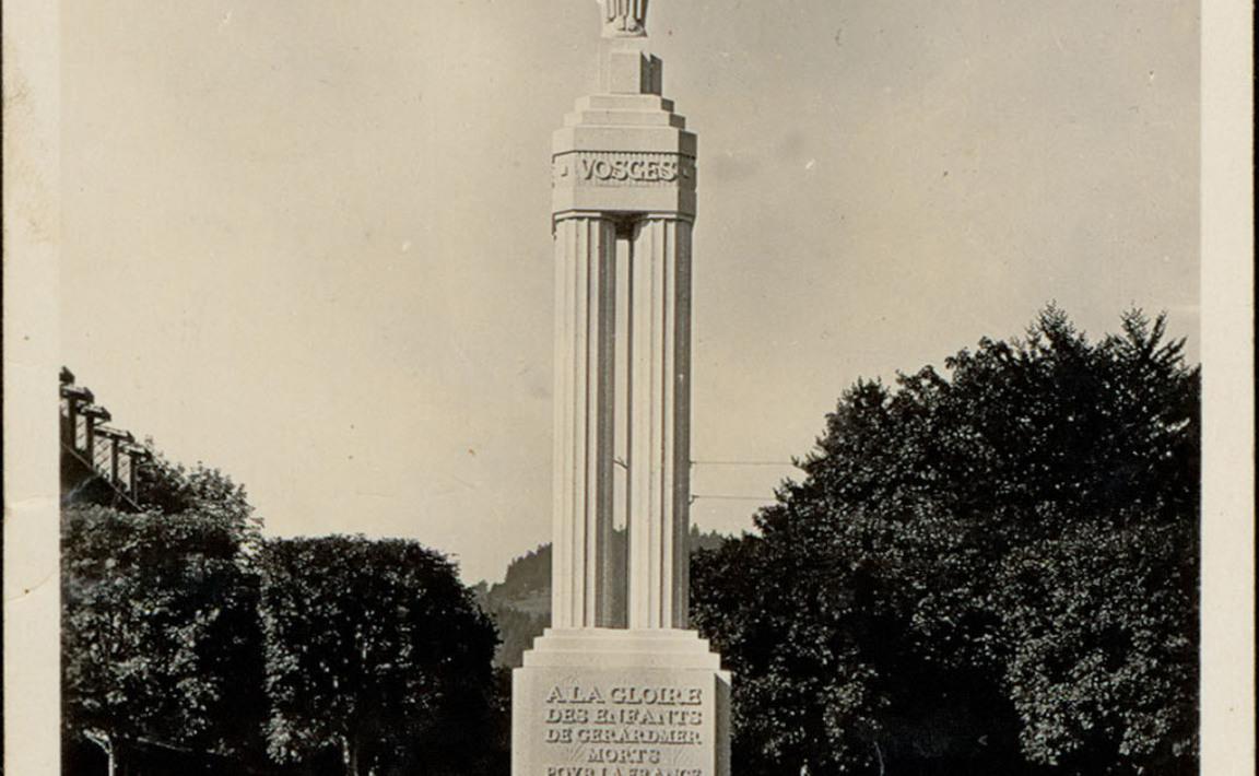 Contenu du Monument aux Morts de Gérardmer