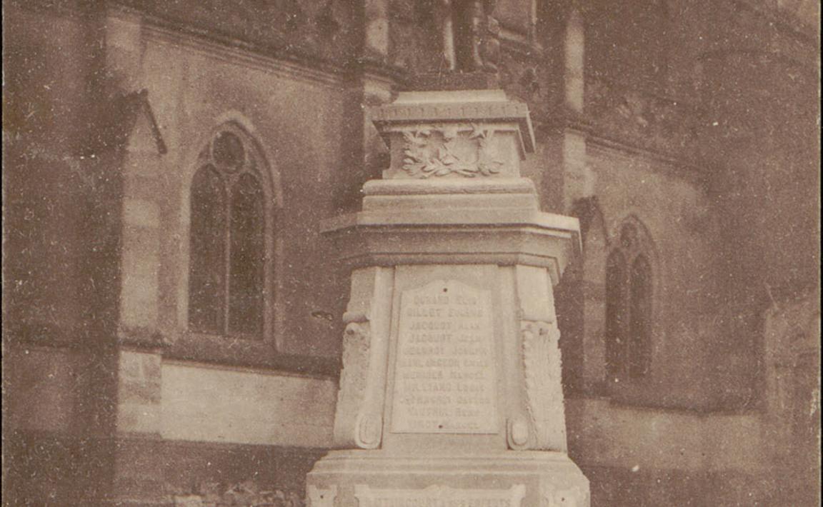 Contenu du Monument aux Morts de Mattaincourt