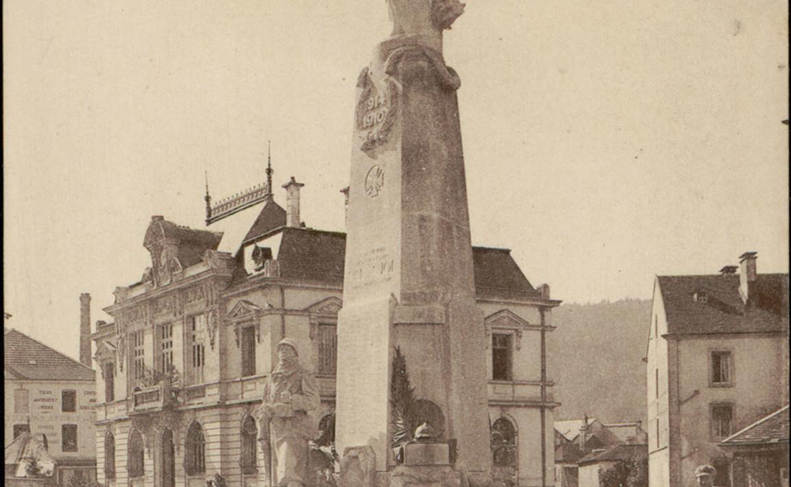 Contenu du Monument aux Morts du Val d'Ajol