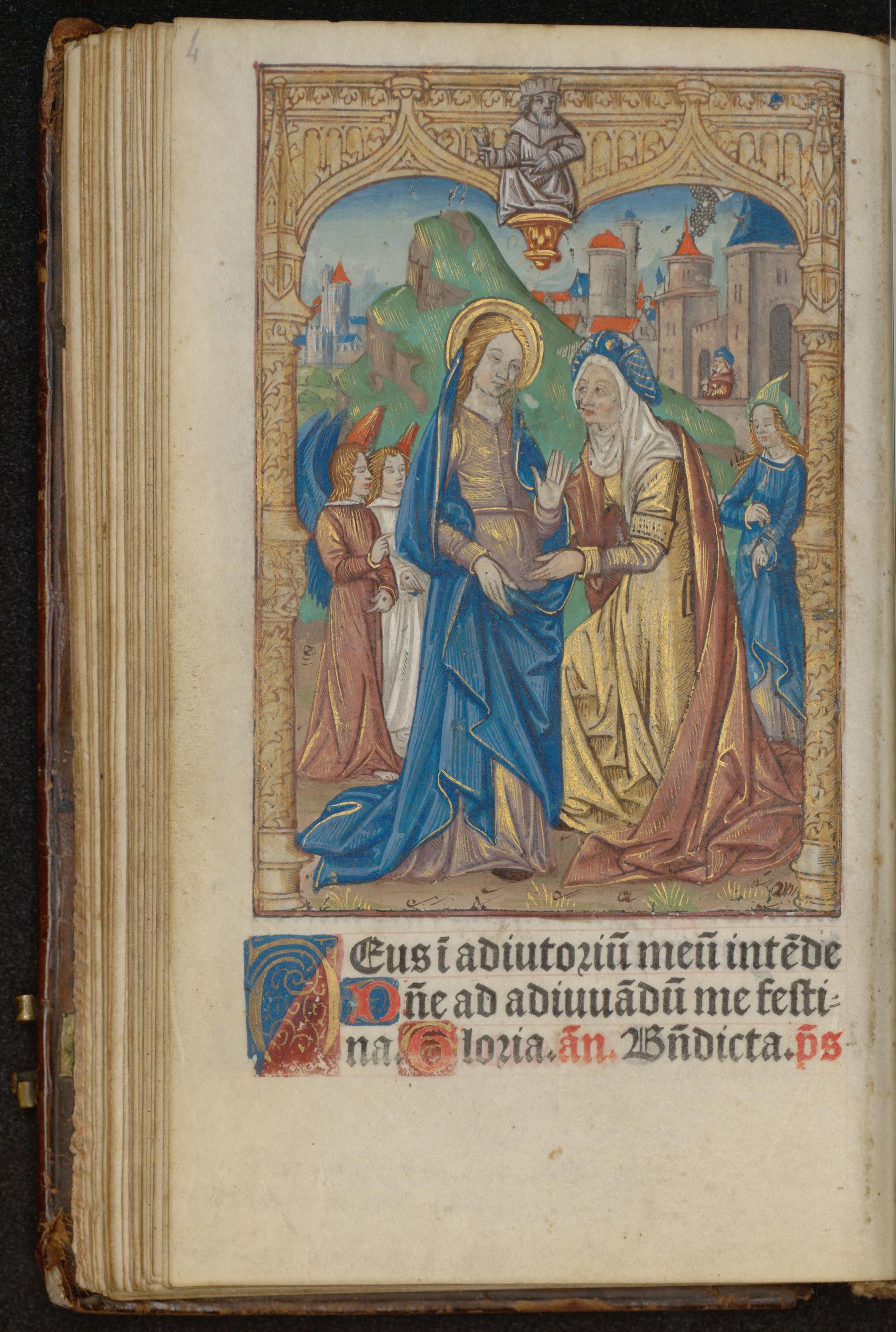 Contenu du Les heures de la Vierge : Laudes