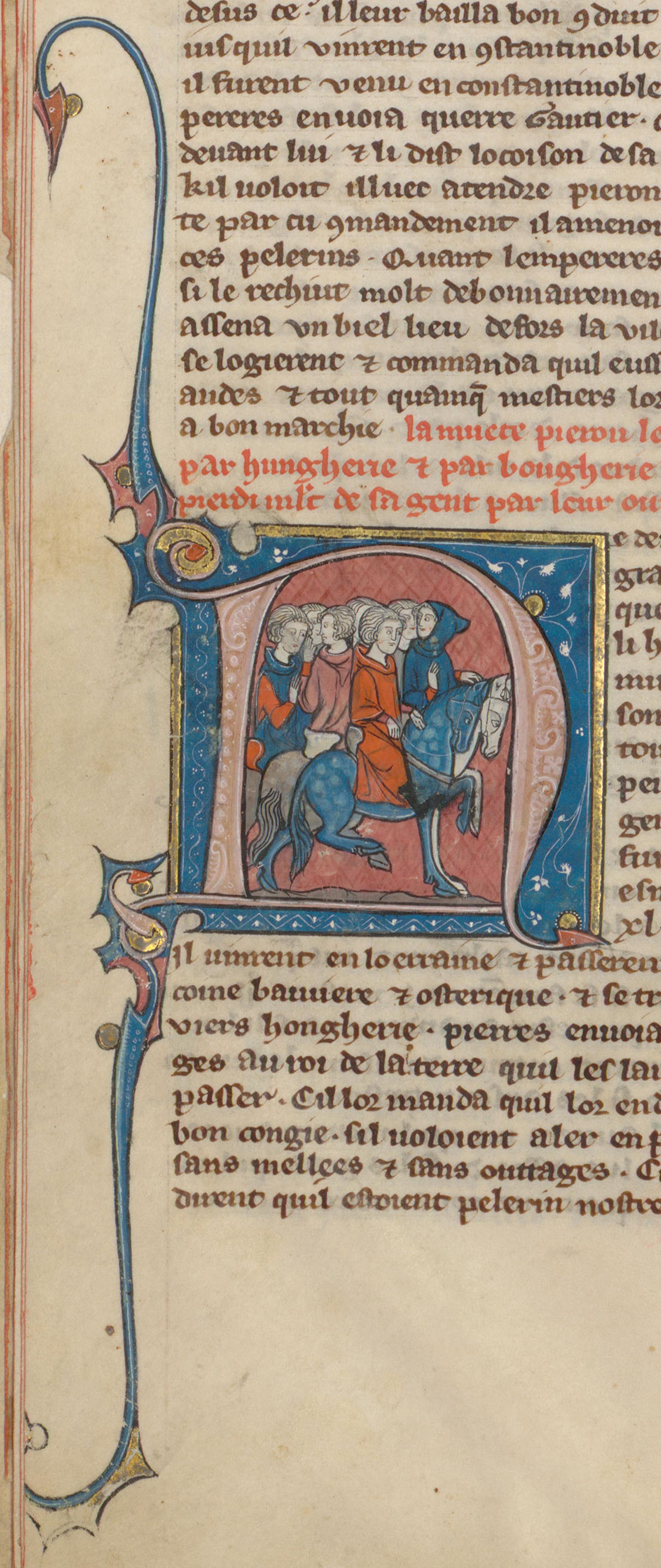 Contenu du Pierre l'Ermite conduisant des pèlerins