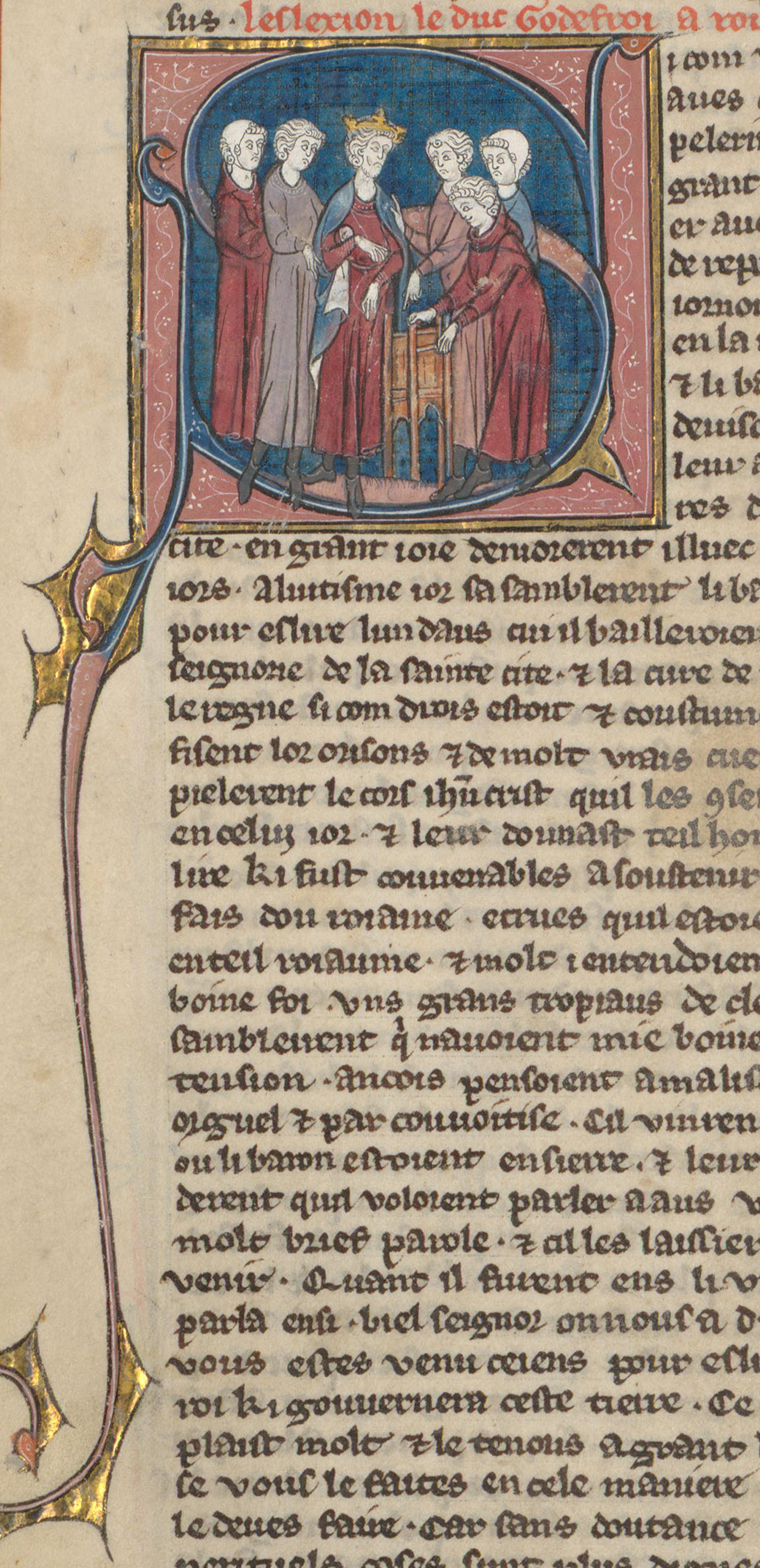 Contenu du Godefroy de Bouillon, gouverneur de Jérusalem