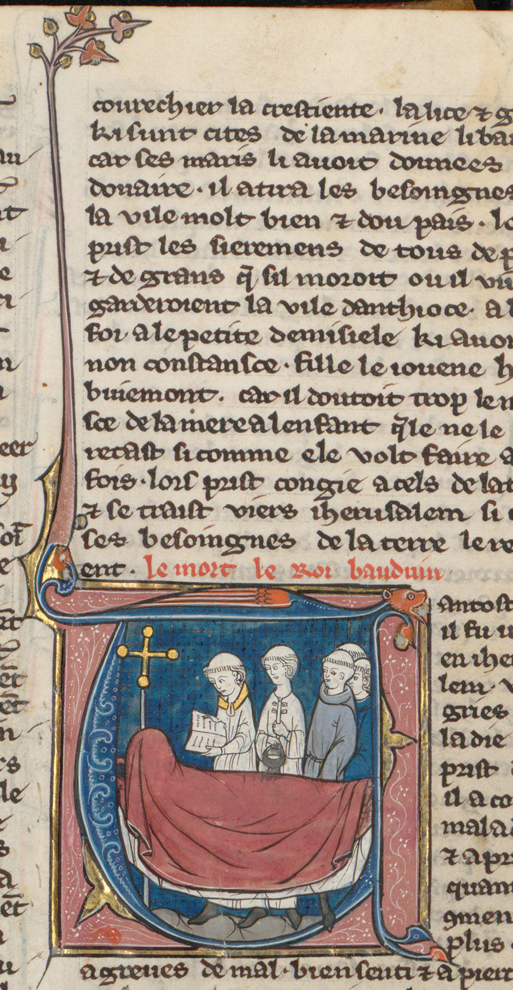 Contenu du Funérailles de Baudoin II