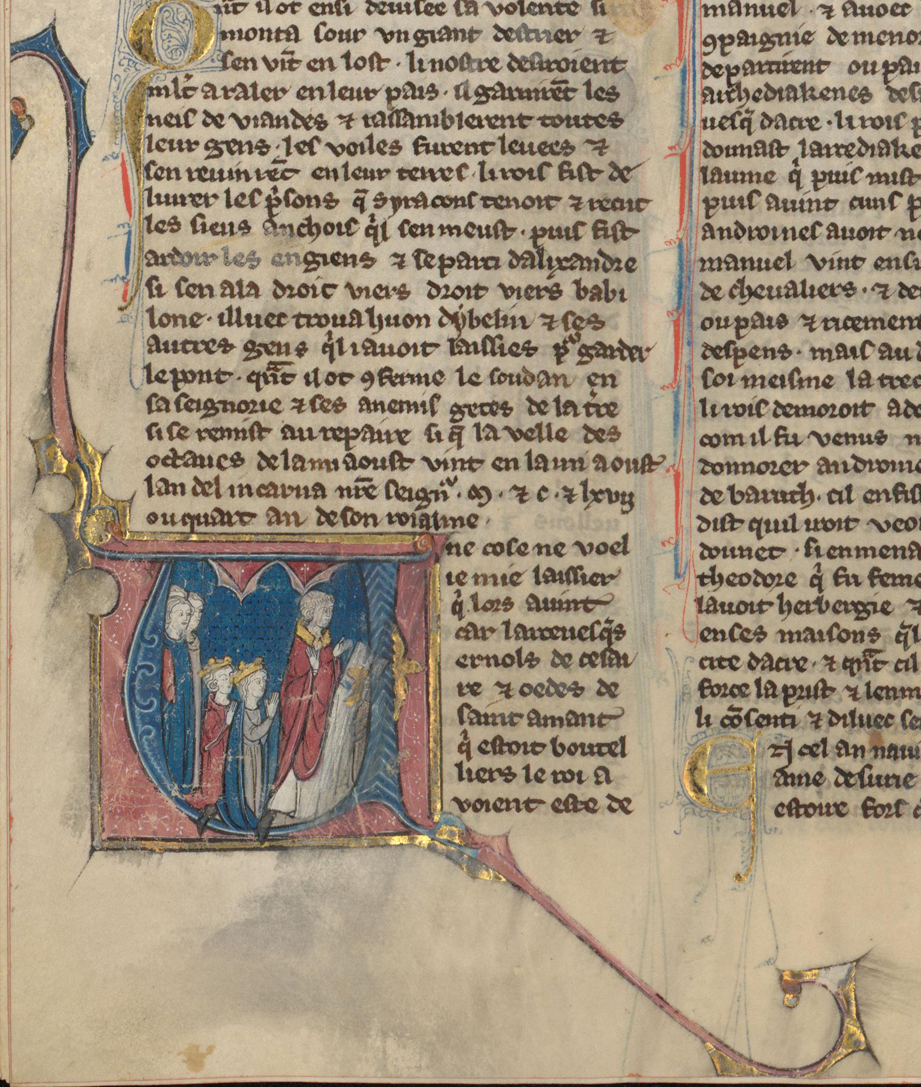 Contenu du Mariage du roi de Jérusalem avec Marie princesse de Byzance