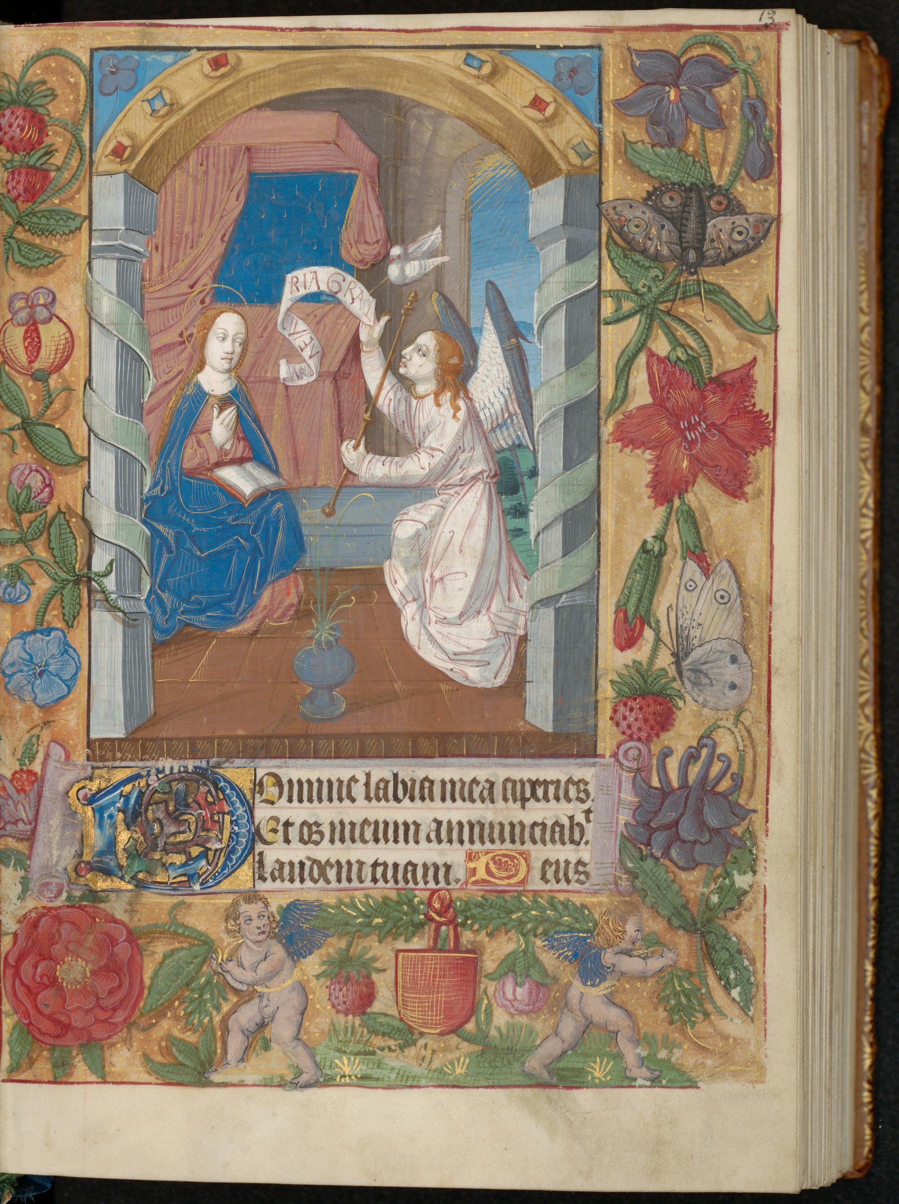 Contenu du Livre d'heures à l'usage de Bayeux