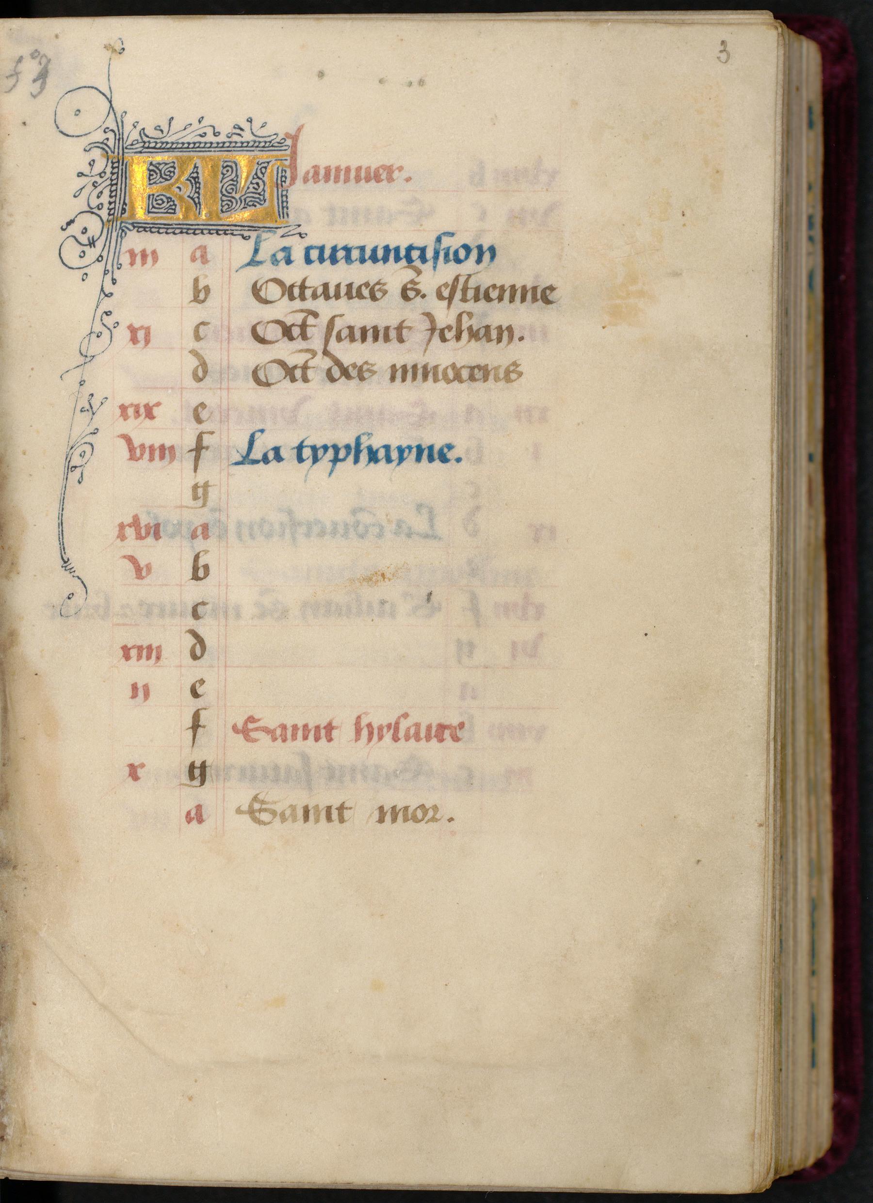 "Contenu du ""KL"" initiales filigranées"