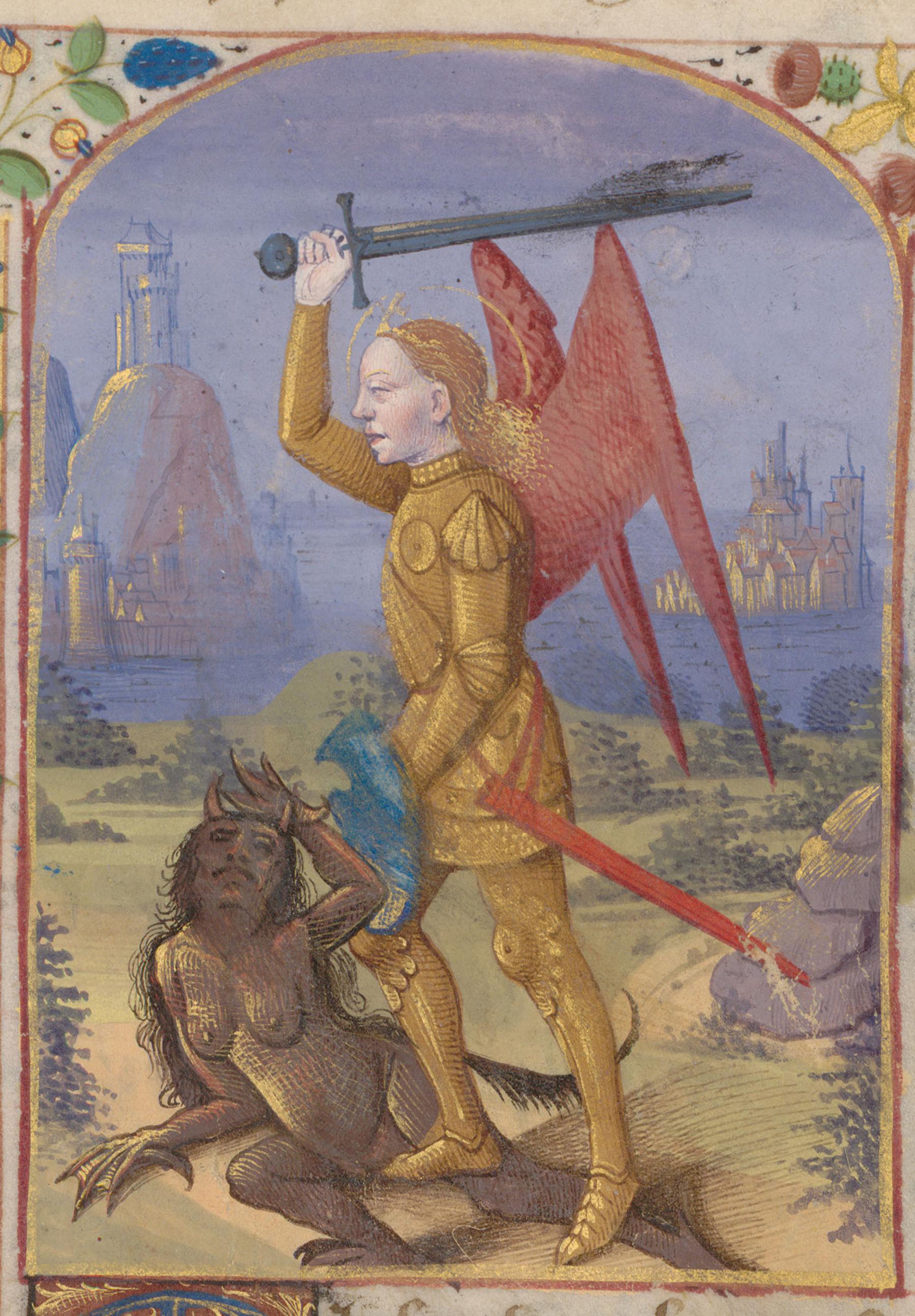 Contenu du L'Archange saint Michel