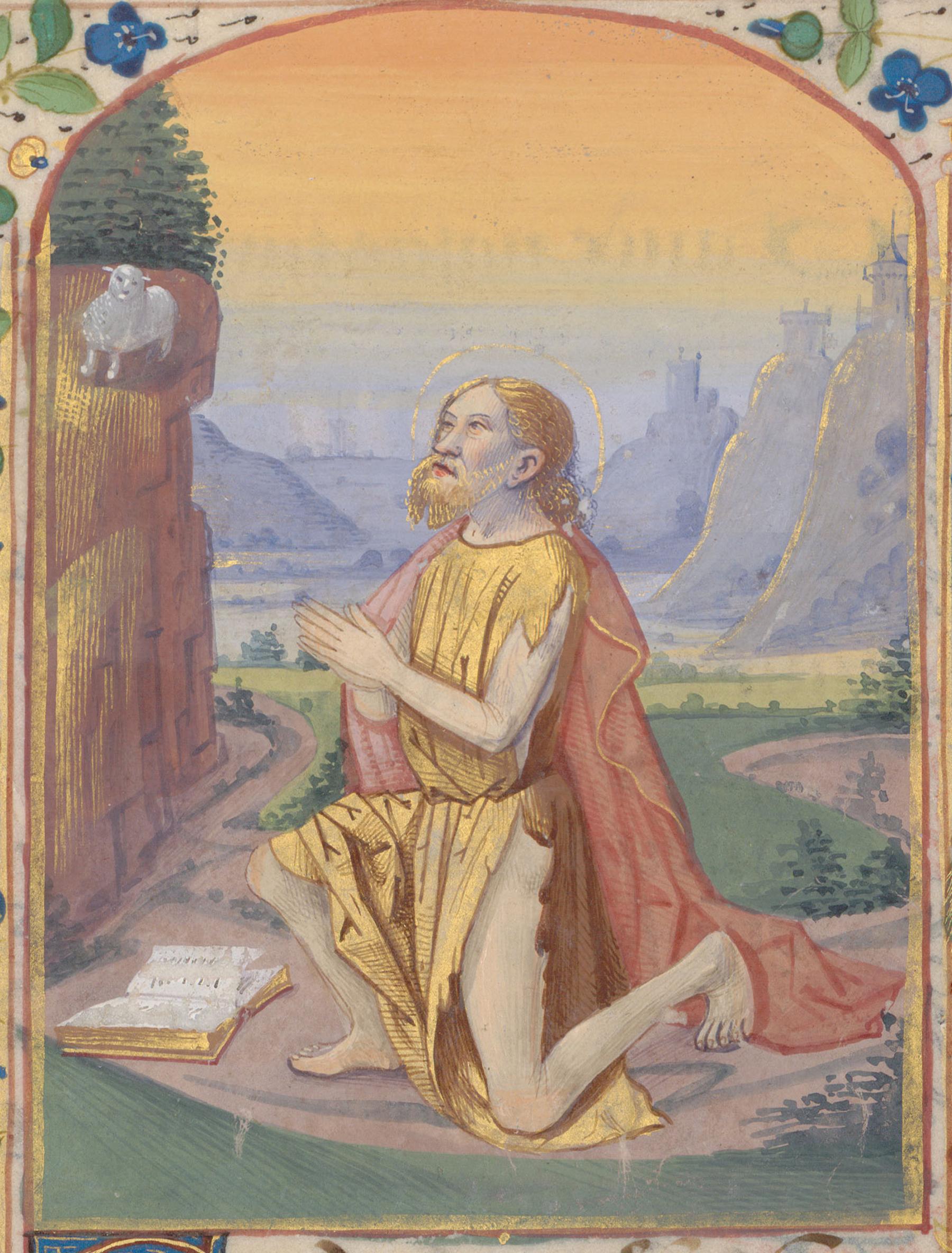 Contenu du Saint Jean-Baptiste