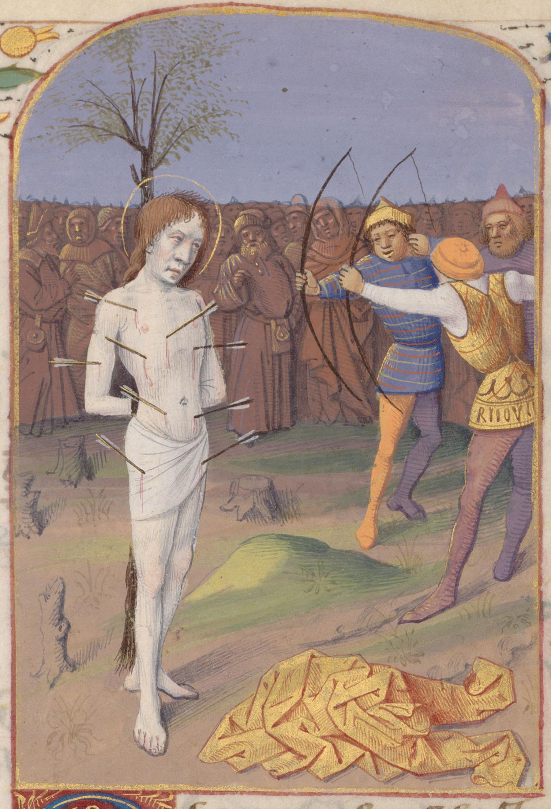 Contenu du Saint Sébastien