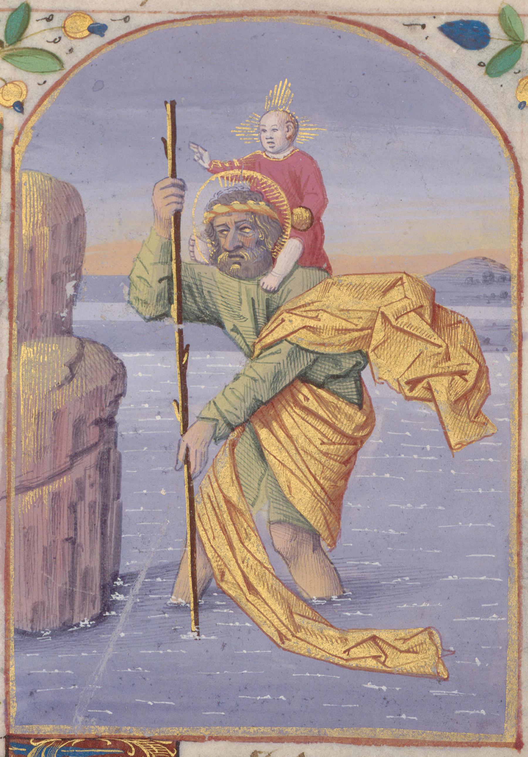 Contenu du Saint Christophe