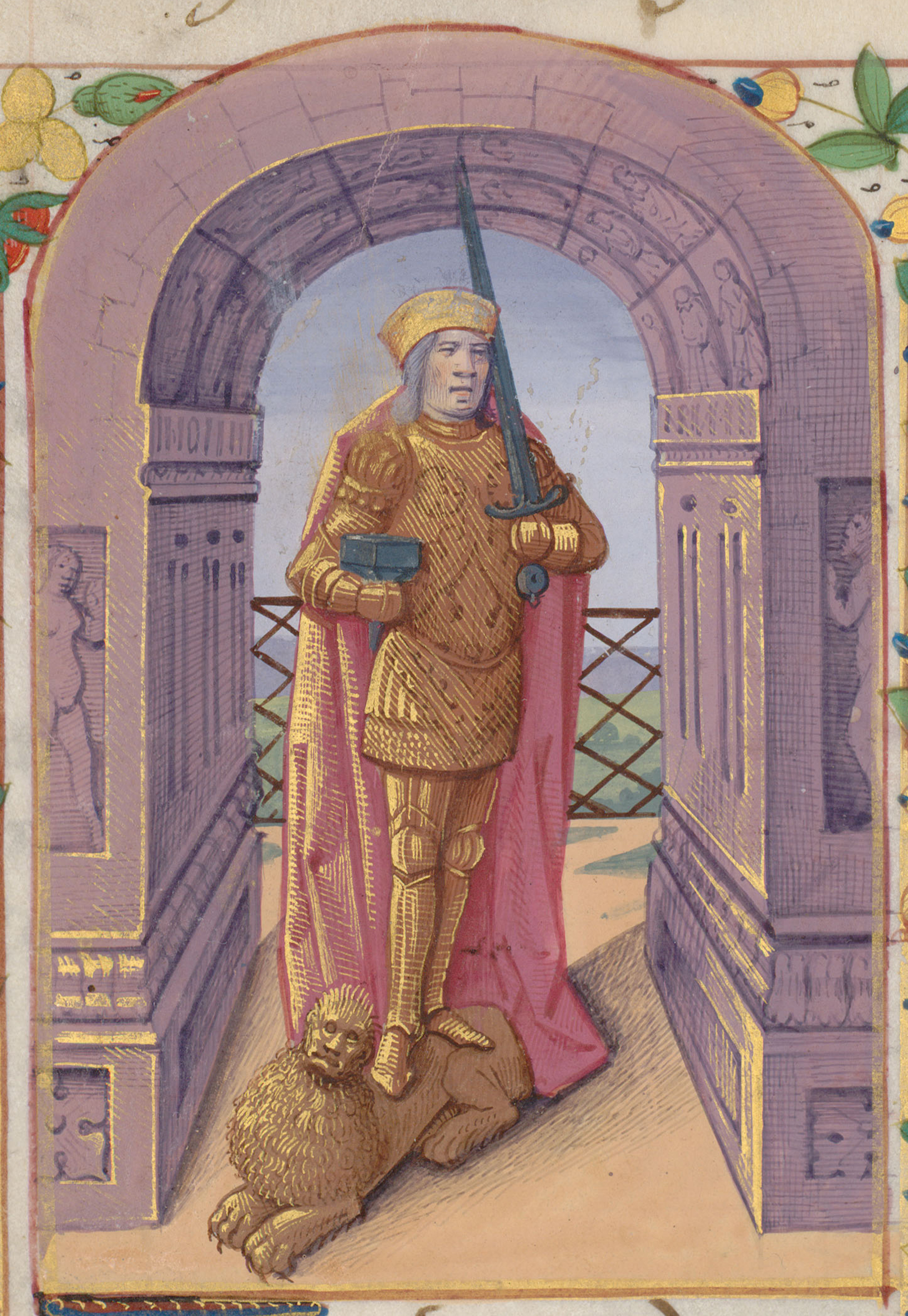 Contenu du Saint Adrien