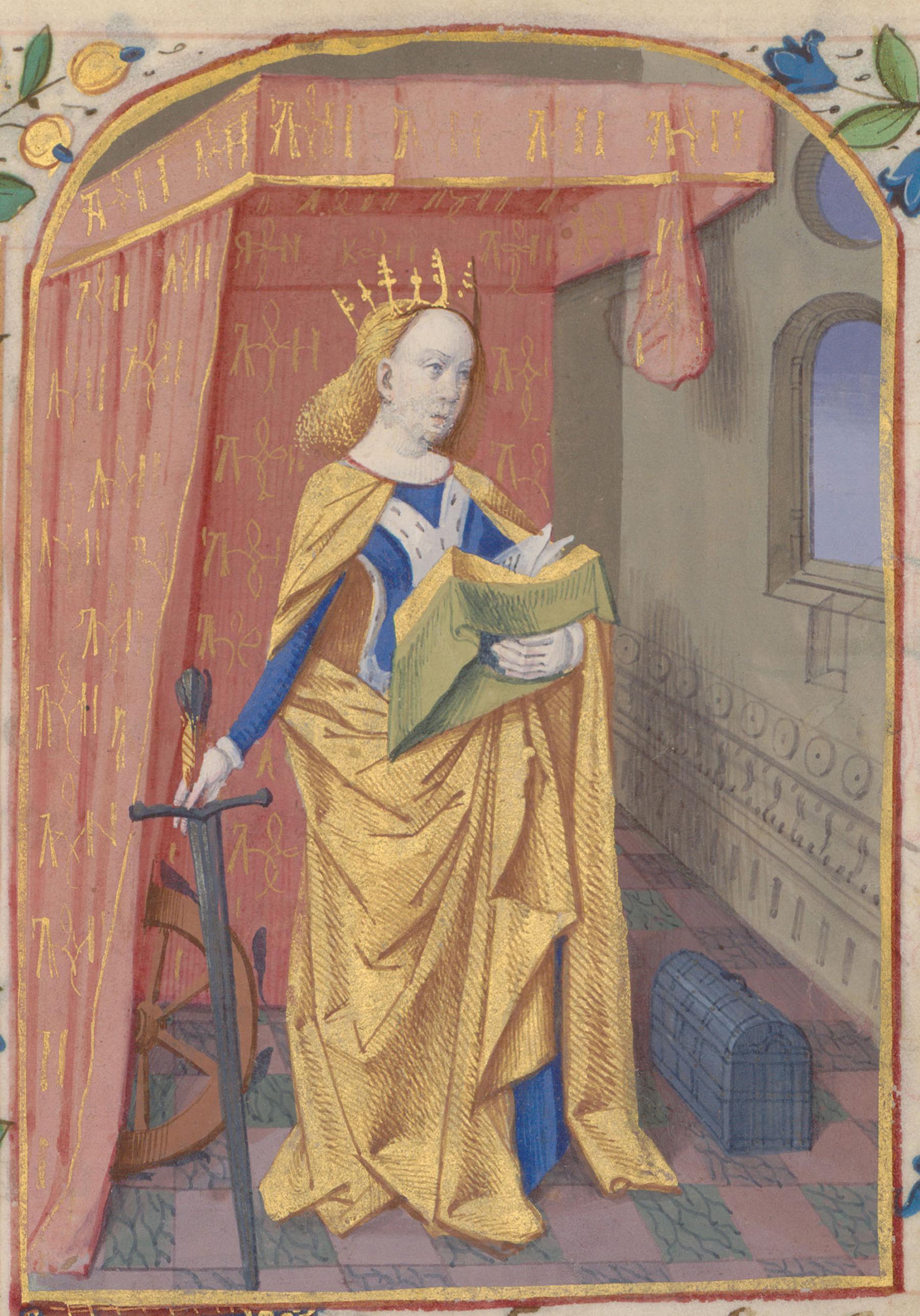 Contenu du Sainte Catherine