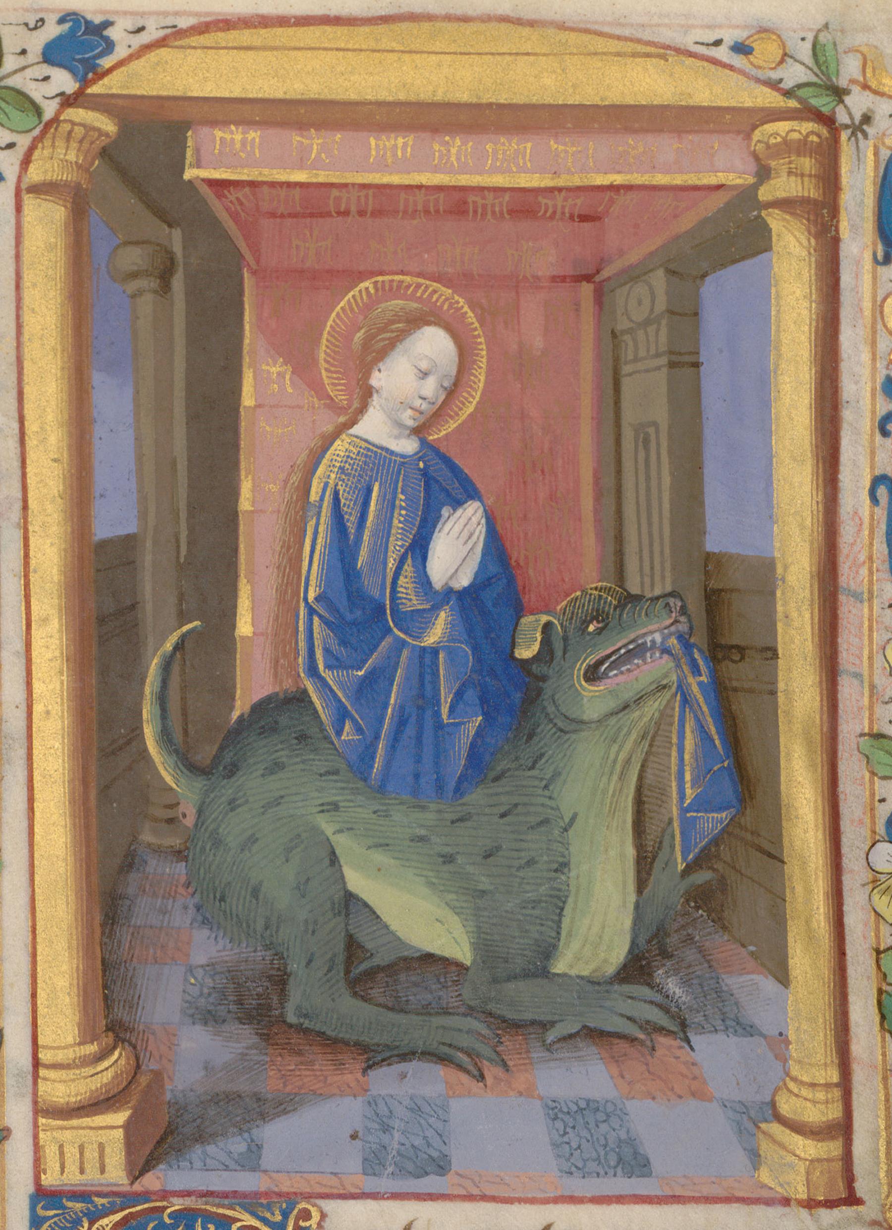 Contenu du Sainte Marguerite