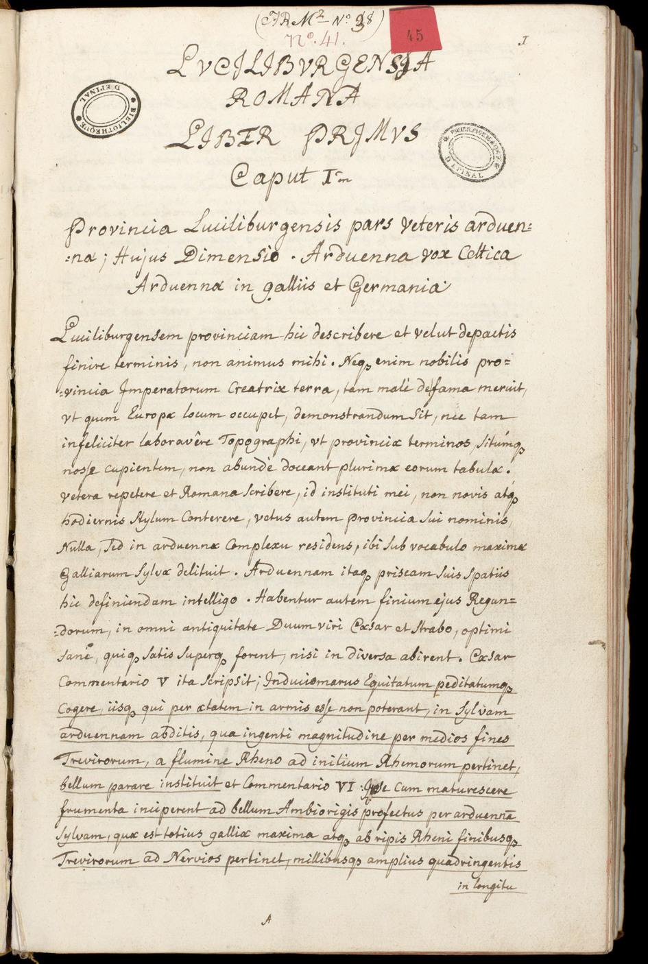 Contenu du Des documents bleus