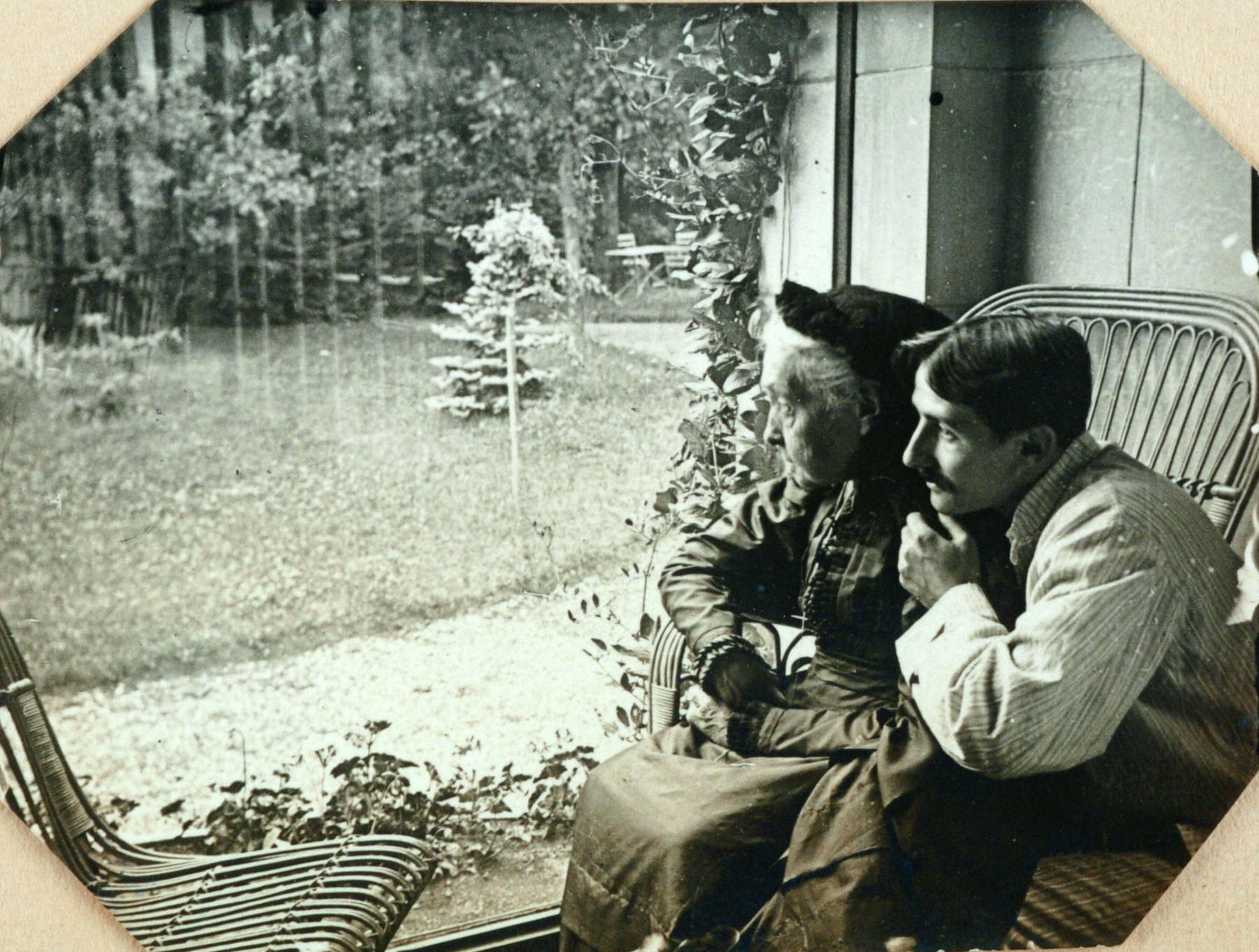 Contenu du Jacques Majorelle et sa grand-mère