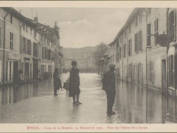 Les inondations : de 1910 à 1919