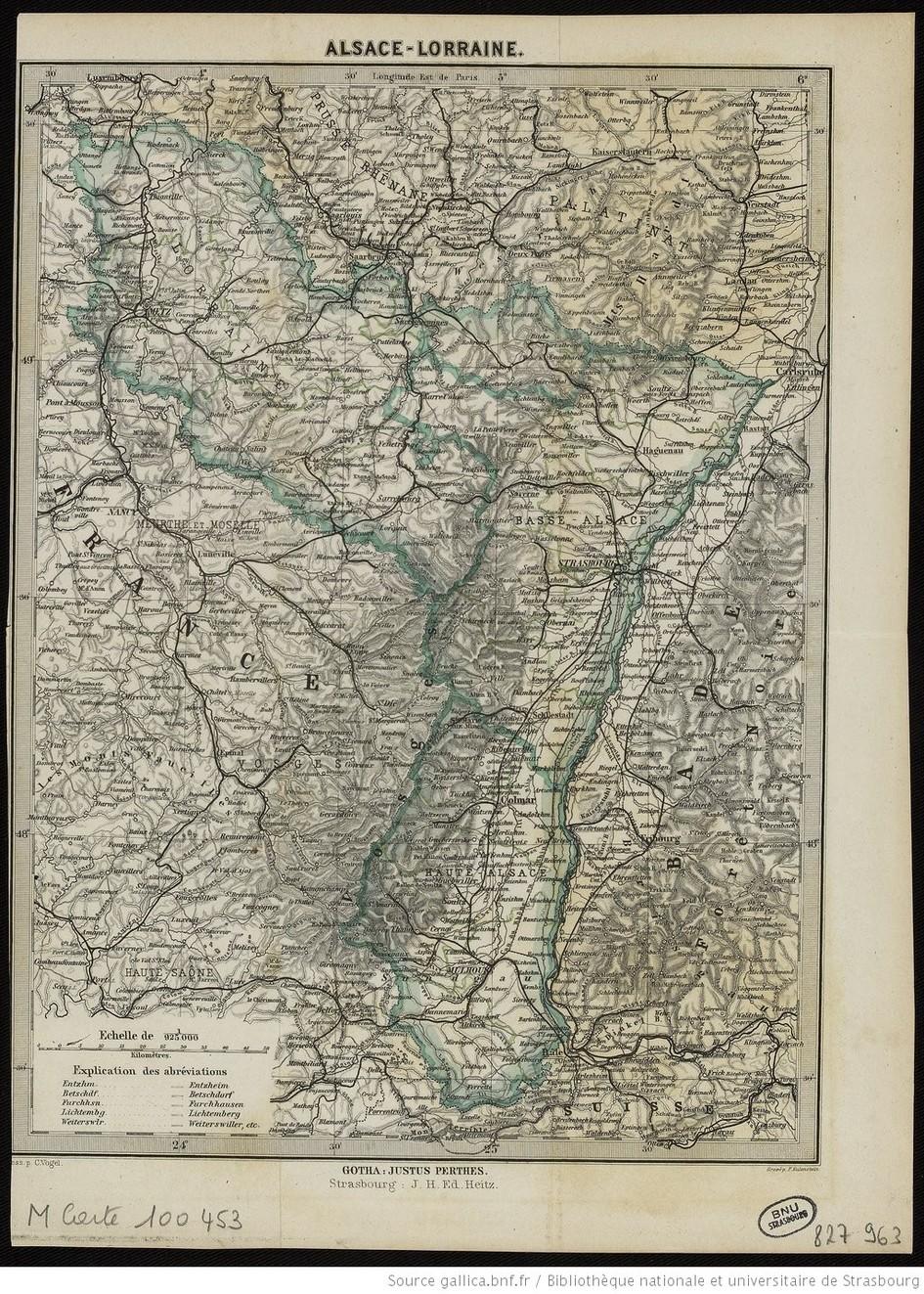 Contenu du La France perd l'Alsace-Lorraine