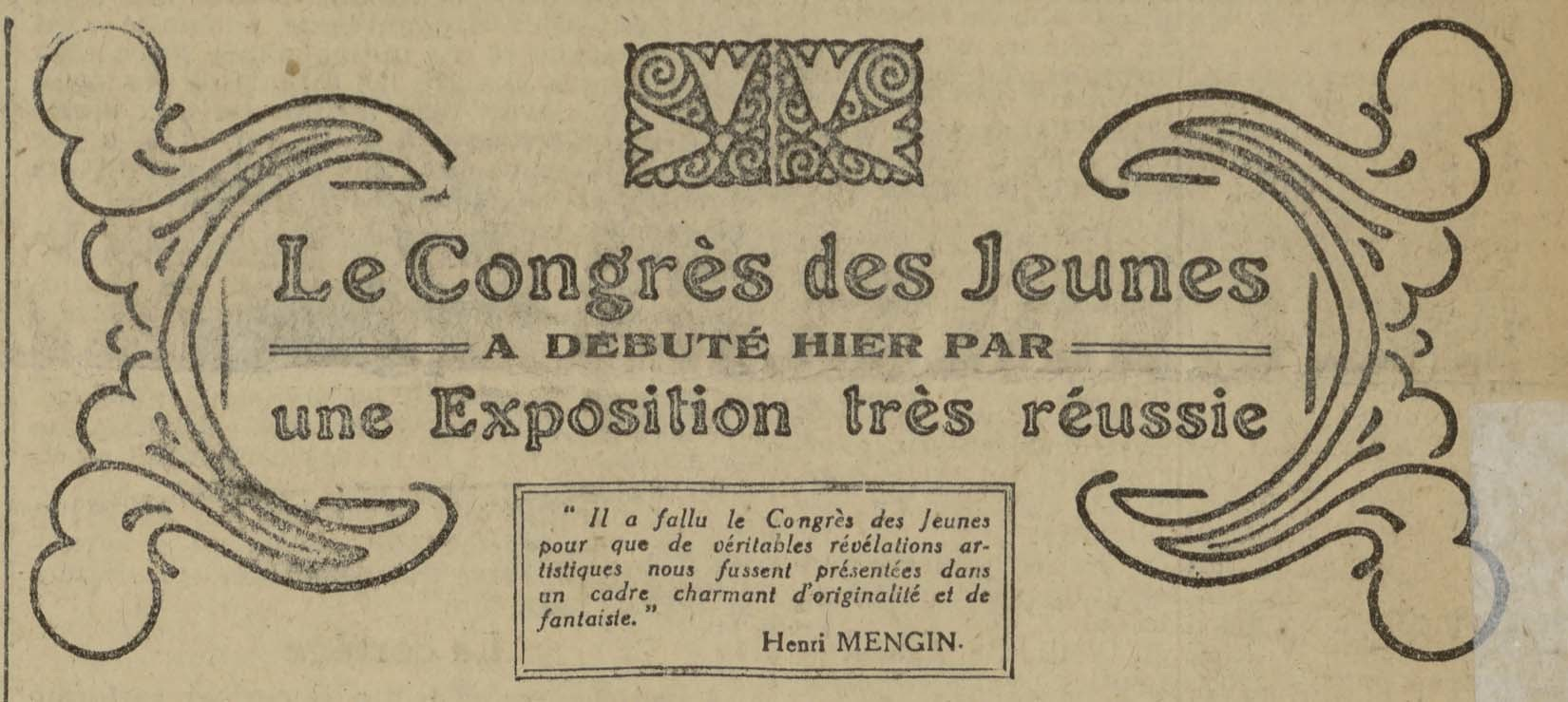Est Républicain du 13/09/1920 (Source Kiosque Lorrain)