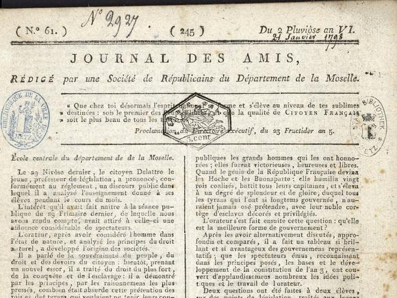 Le Journal des Amis