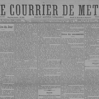 Le Courrier de Metz