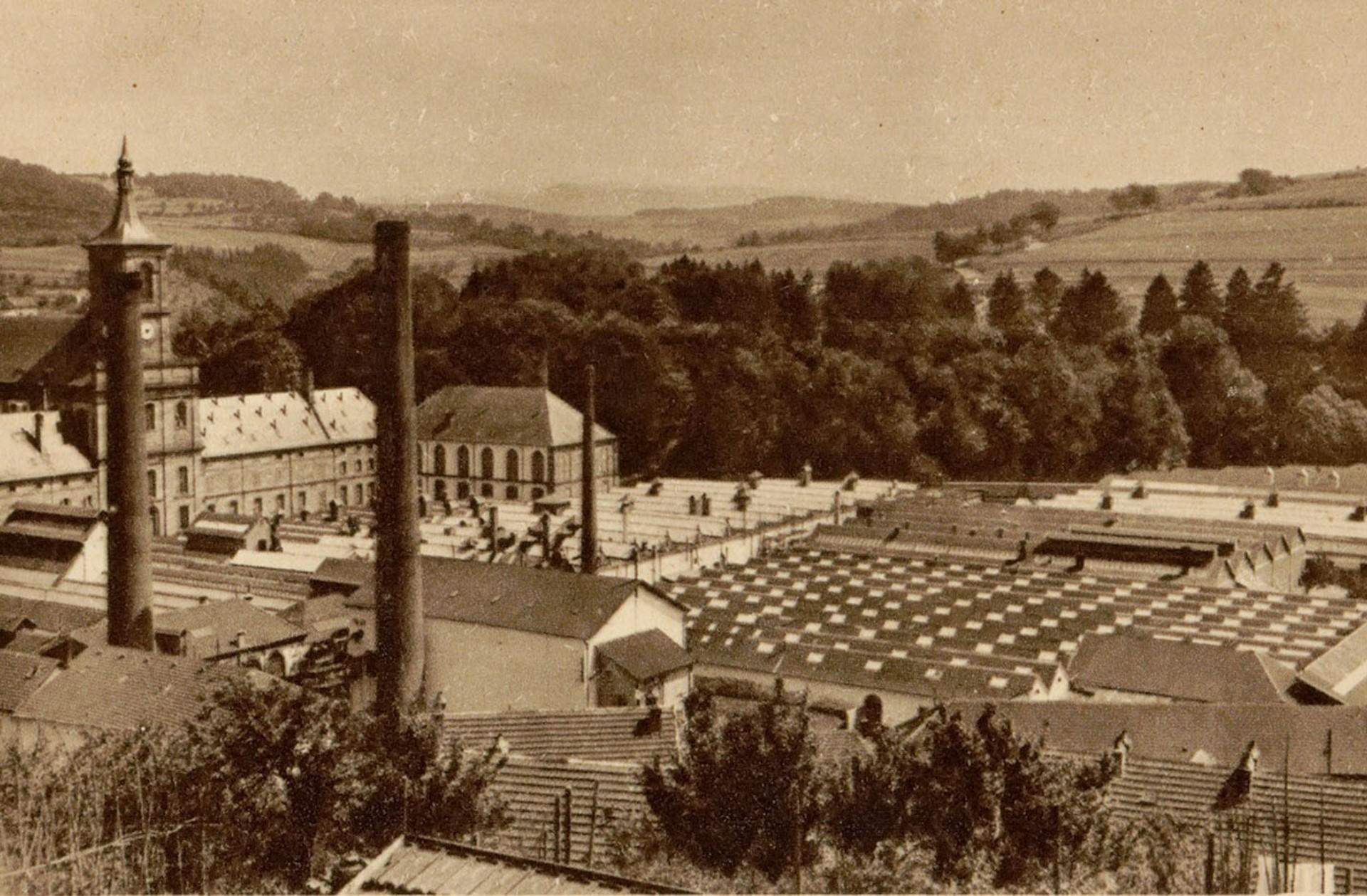 Contenu du L'industrie textile dans les Vosges