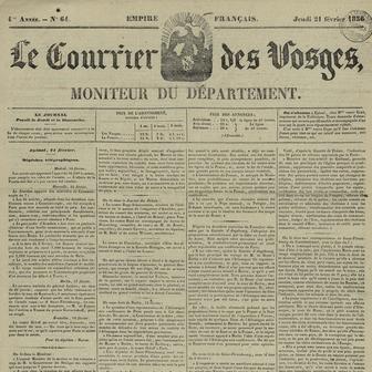 Le Courrier des Vosges
