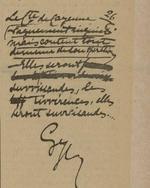 L'Est Républicain, 5 juillet 1932, écriture et autographe de Gyp