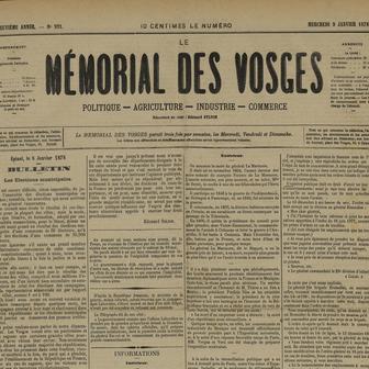 Le Mémorial des Vosges
