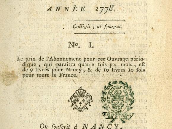 La presse quotidienne et d'information générale à Nancy
