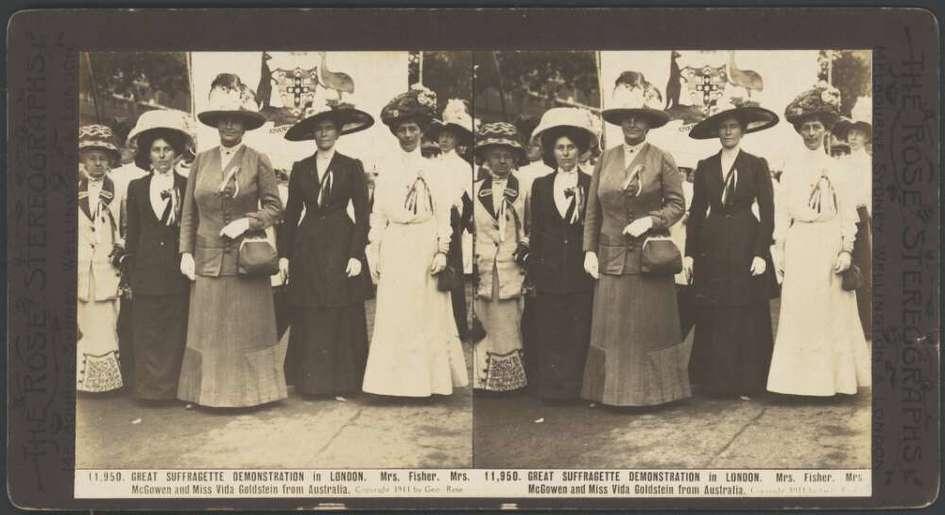 Contenu du Les premiers pas du vote féminin, d'un territoire immense à une république minuscule